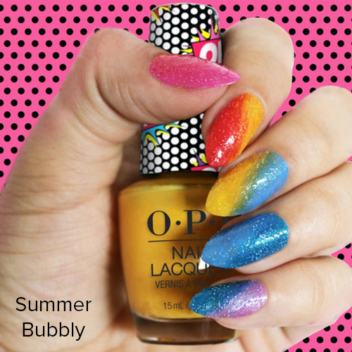OPI Nail Art: Summer Bubbly