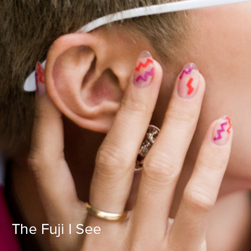 OPI Nail Art: The Fuji I See