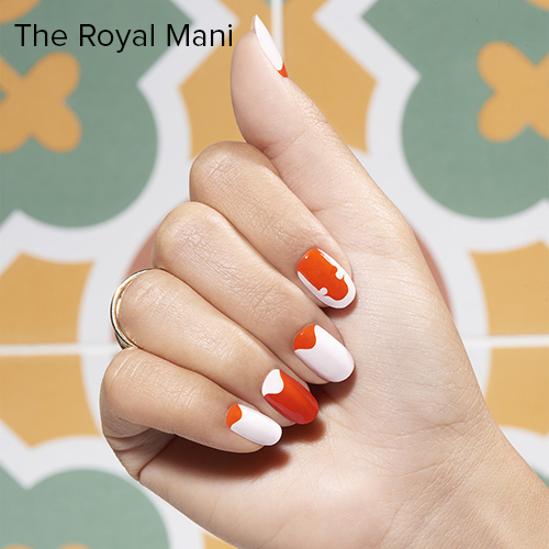 OPI Nail Art: The Royal Mani