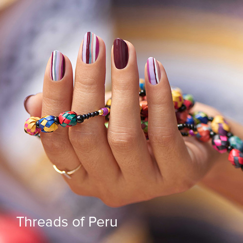 OPI Nail Art: Threads of Peru