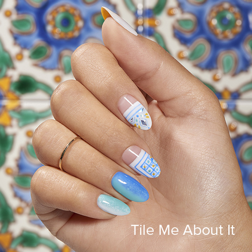 OPI Nail Art: Tile Me About It