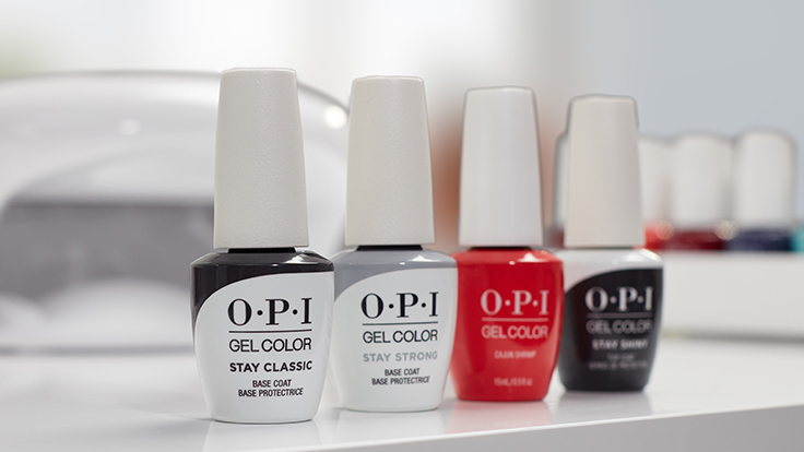 OPI GelColor Top & Base Coat