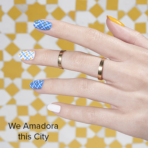 OPI Nail Art: We Amadora this City