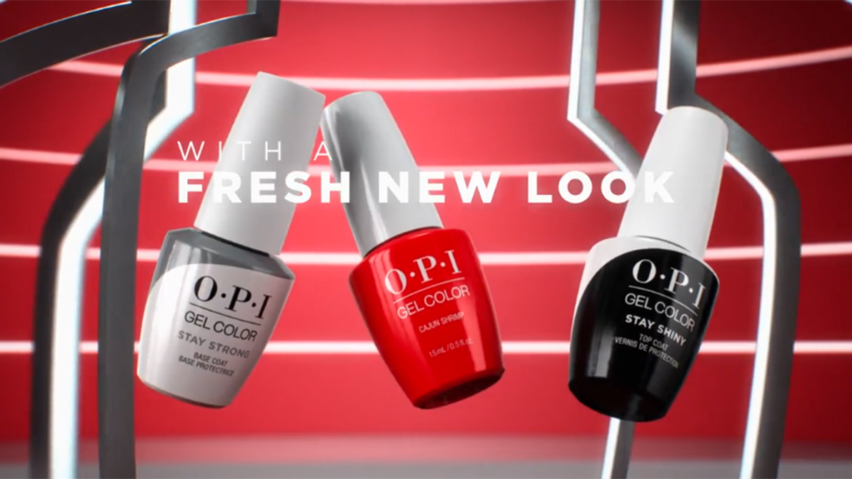 OPI GelColor Top & Base Coats